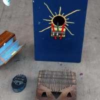 Sanjas - instrument à lame du Togo / Benin
