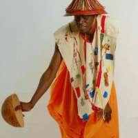 Abdou en tenue traditionnelle Peule